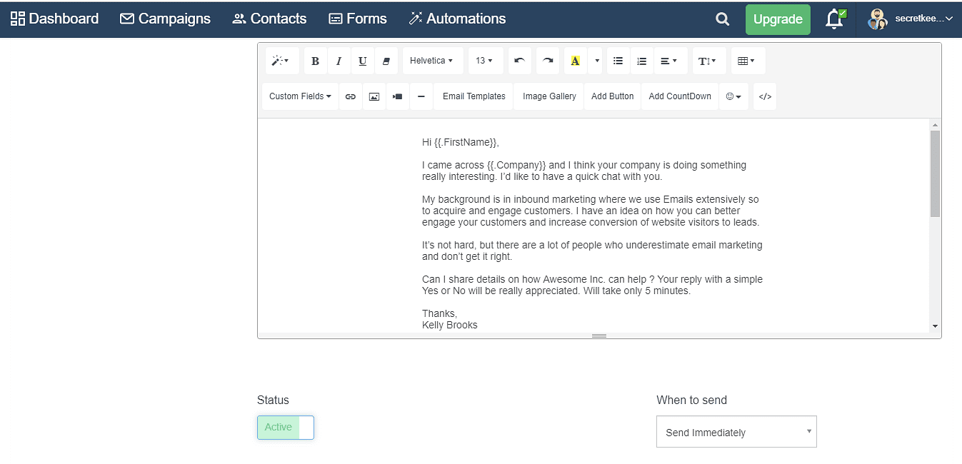Customize your emails using SendX
