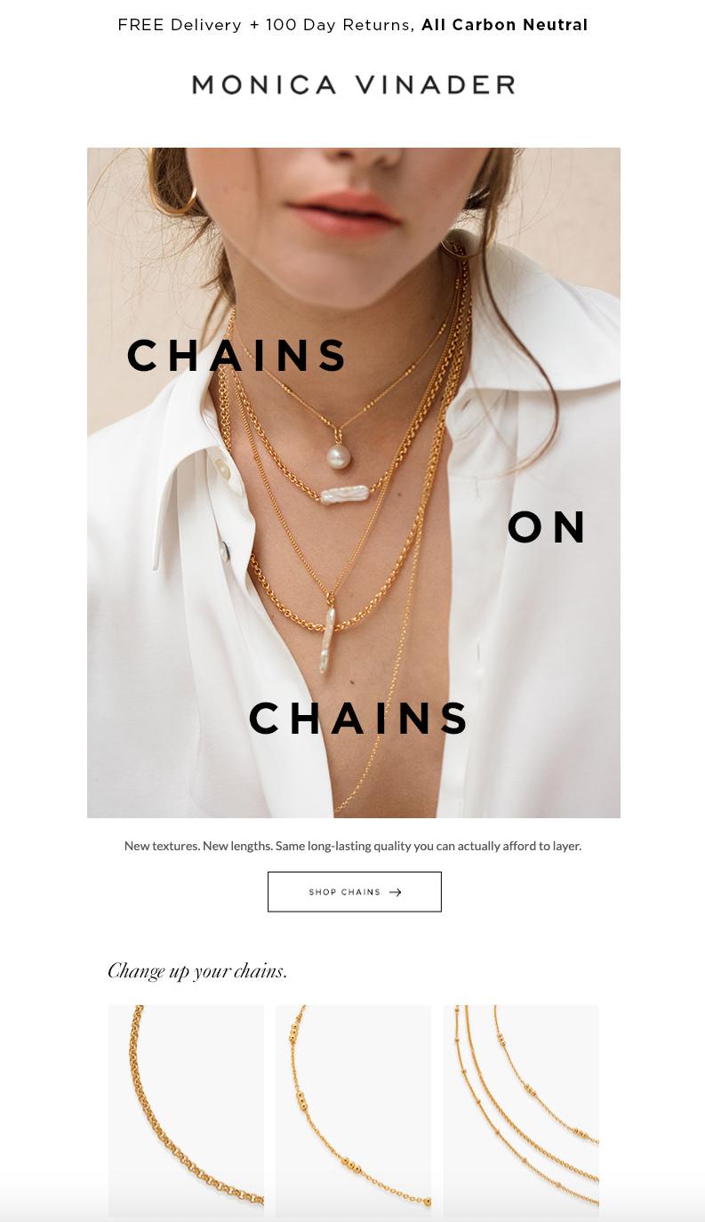chains jewelry