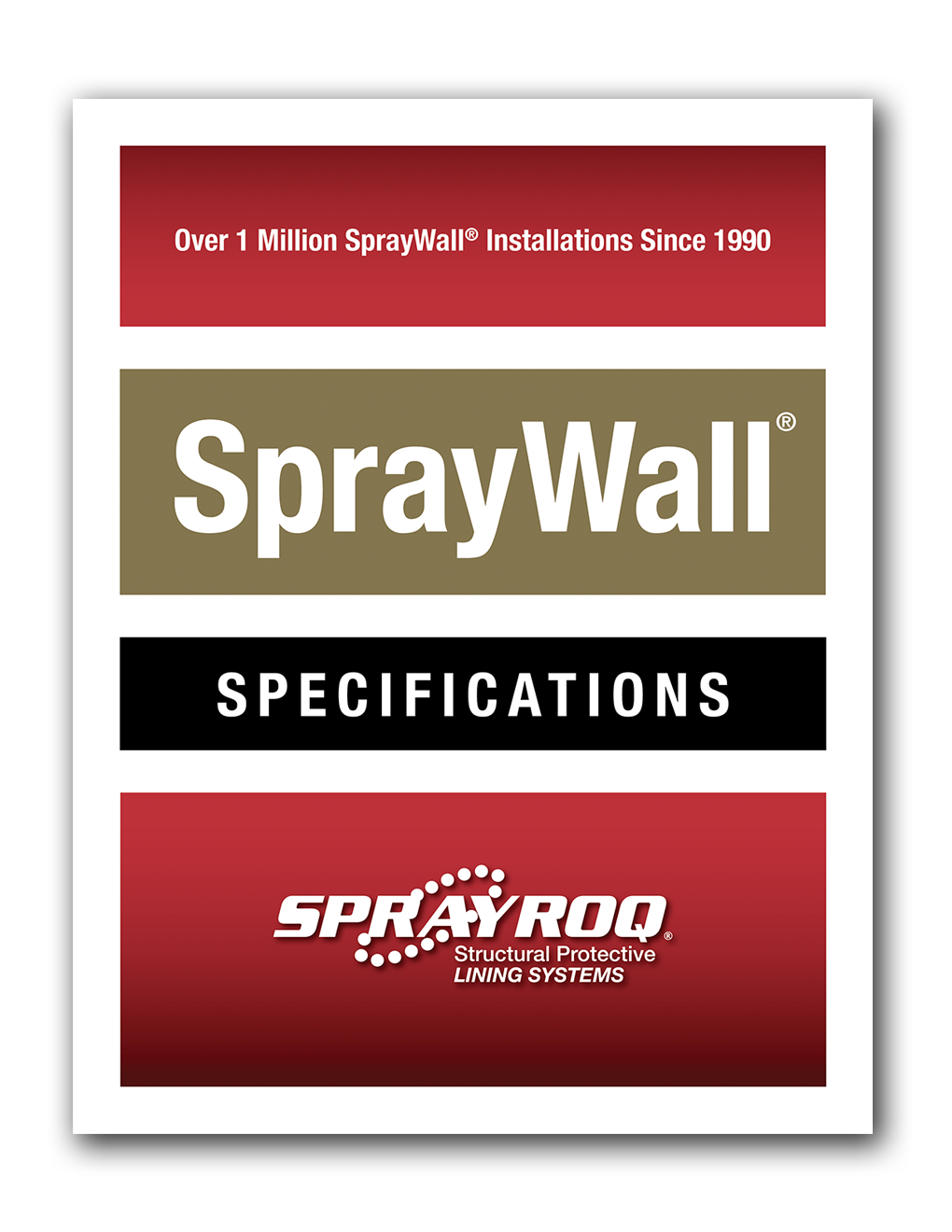 SprayWall Specifications Download