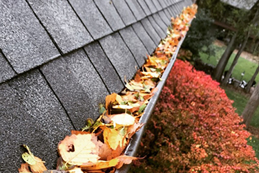 gutter cleaning for a home in wichita