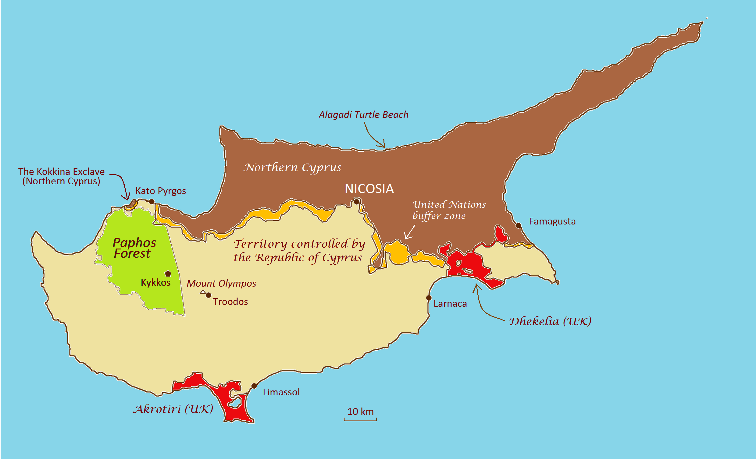 Cyprus, the island that copper\'s named after - A Maverick Traveller