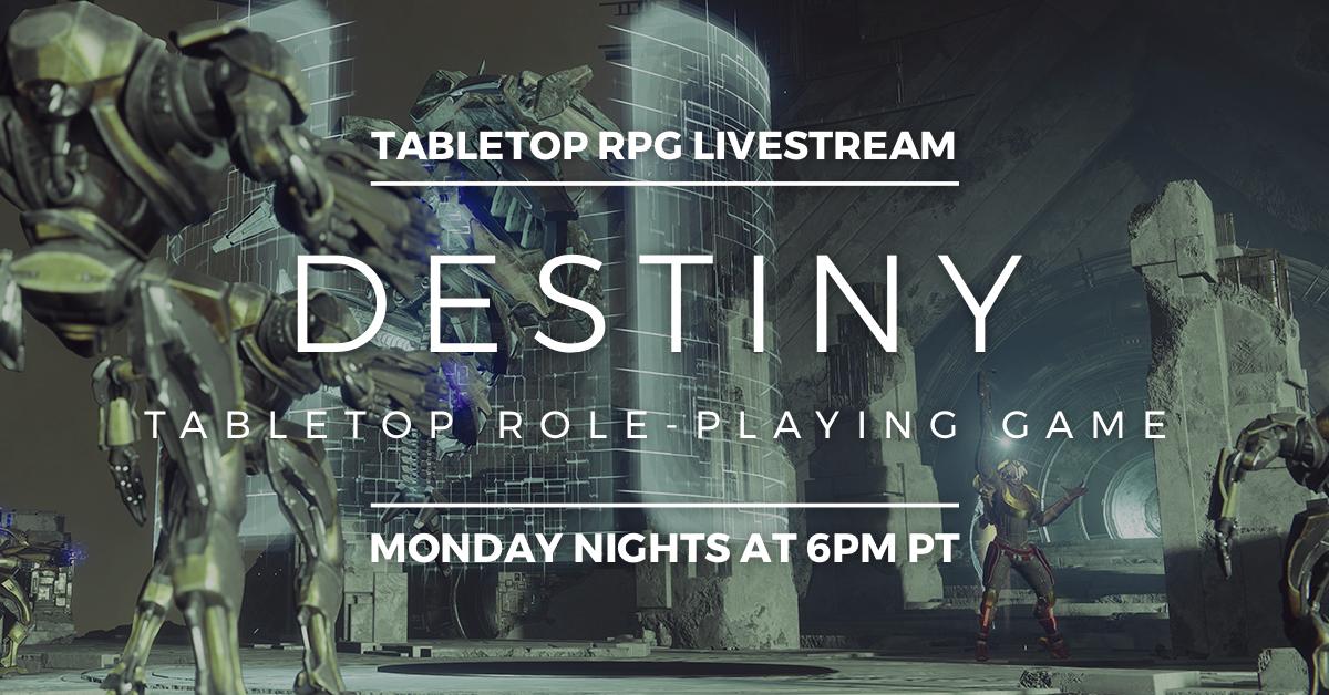 Destiny Tabletop RPG