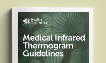 Medical infrared thermogram guidelines document mockup
