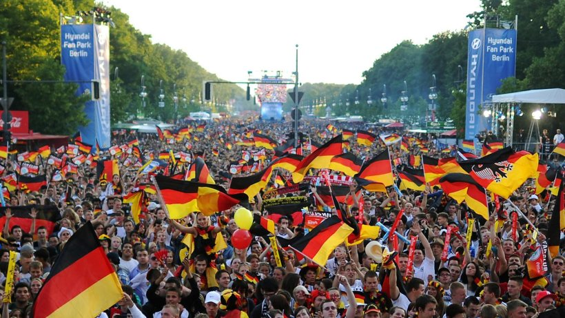 Crowds in Germany