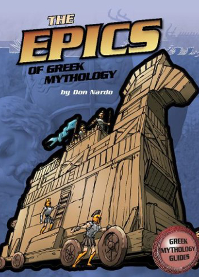Cover of the book The Epics of Greek Mythology