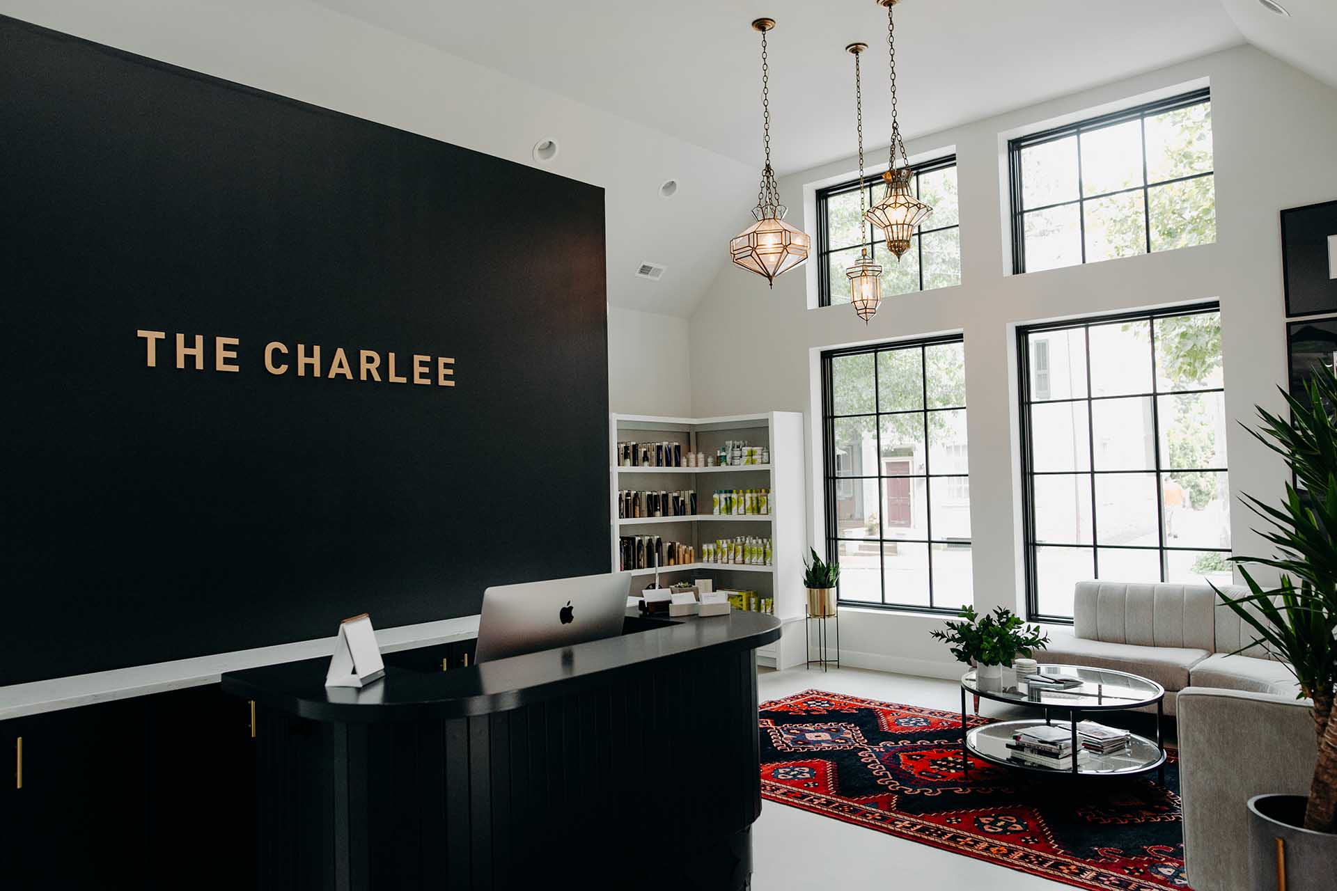 The Charlee reception and waiting area