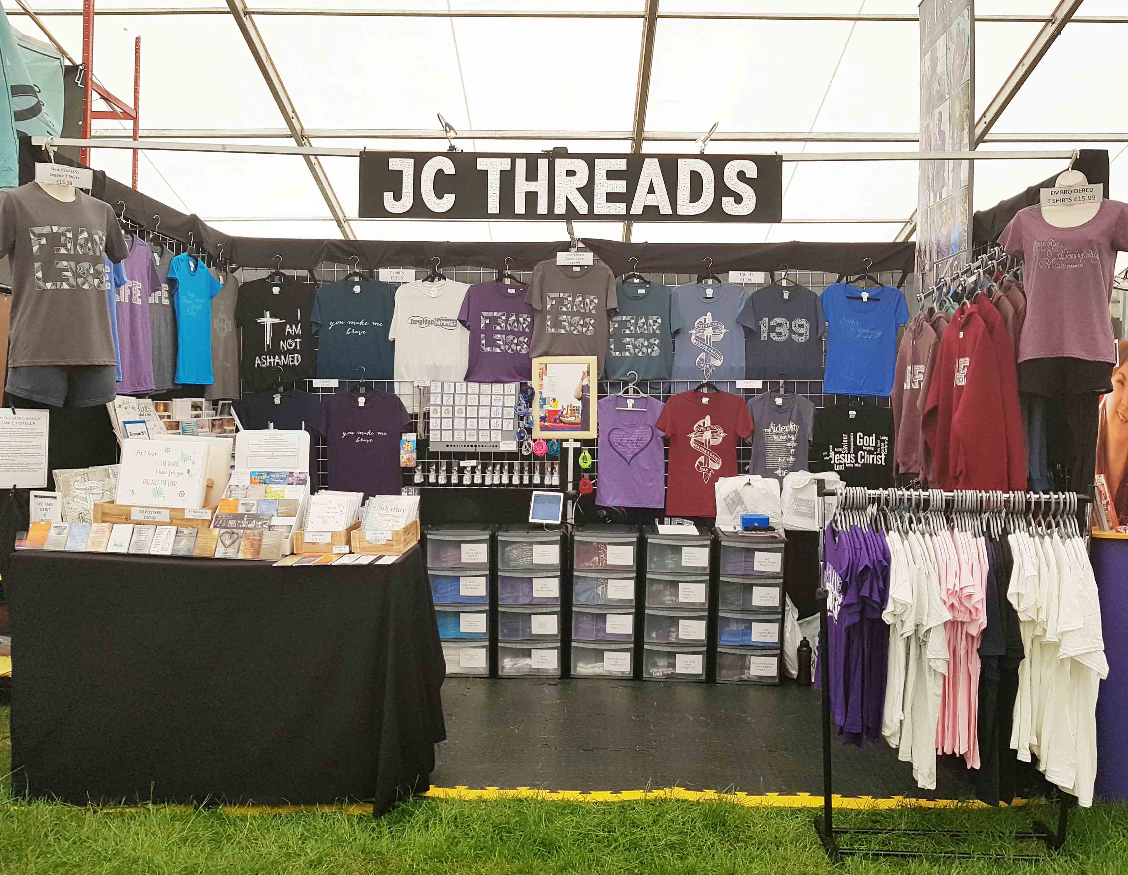 A picture of the BCDO stand