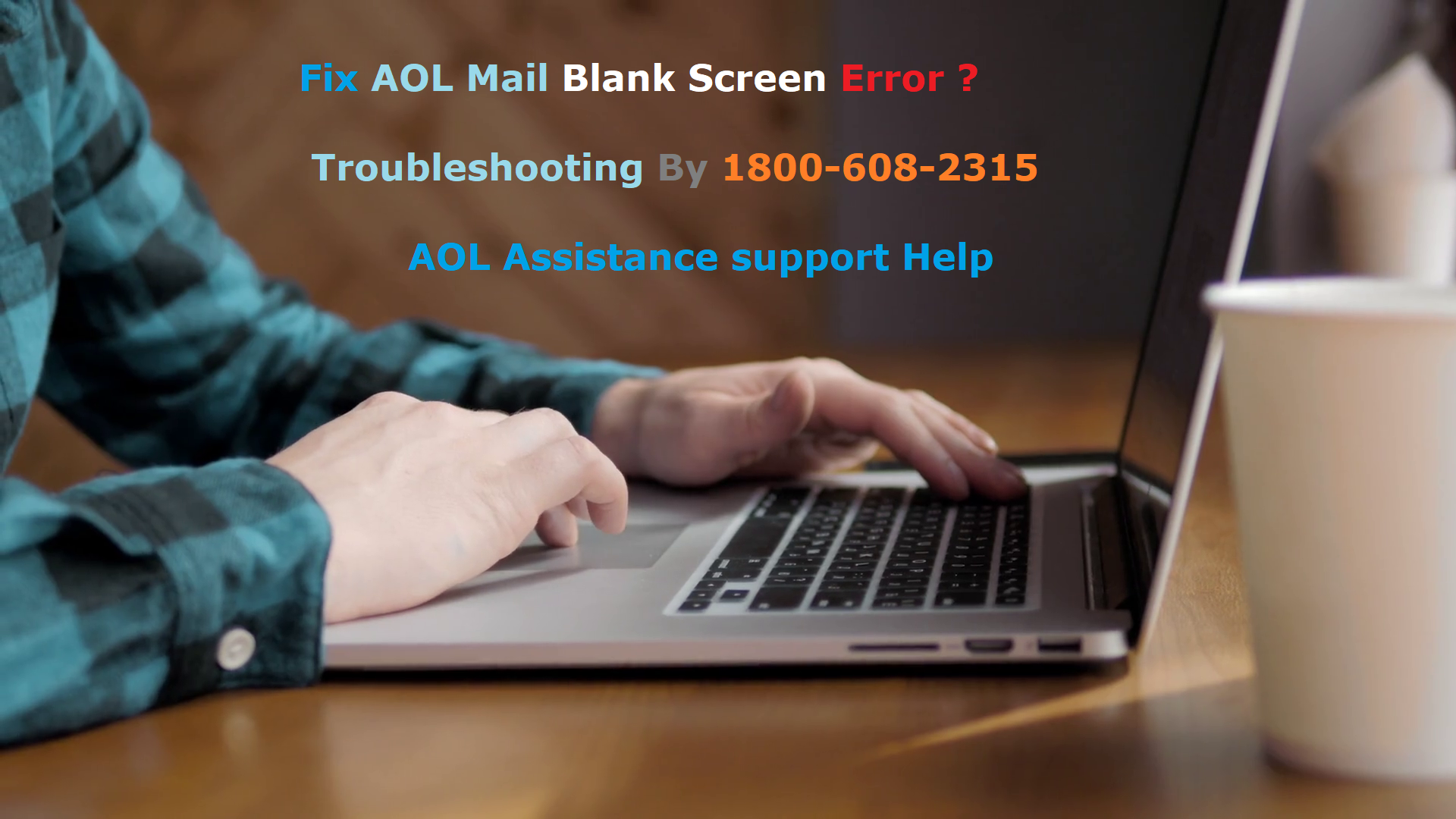 Fix AOL Mail Black Screen Error