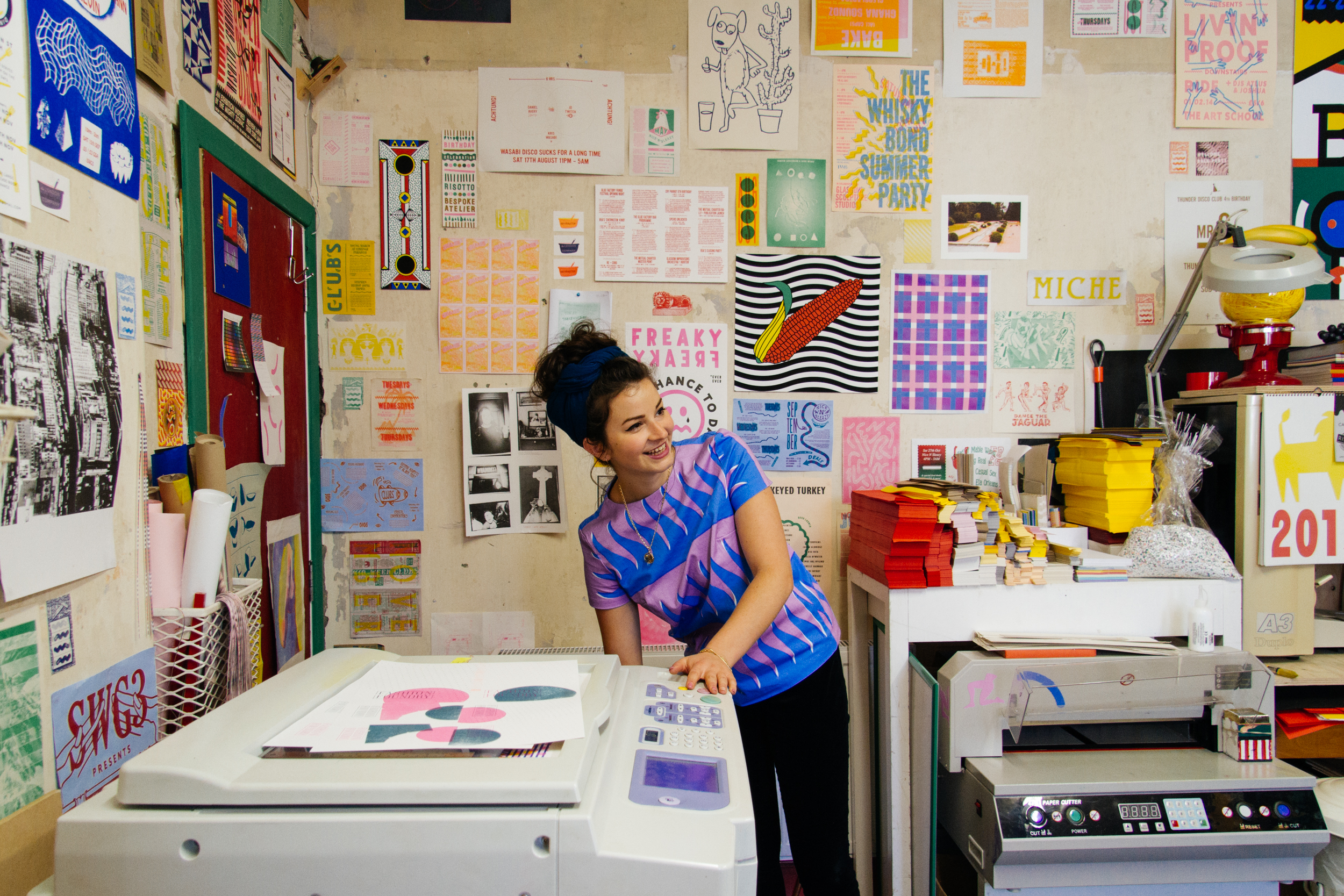 Gabriella Marcella in the studio | Photo: Future Positive Studio