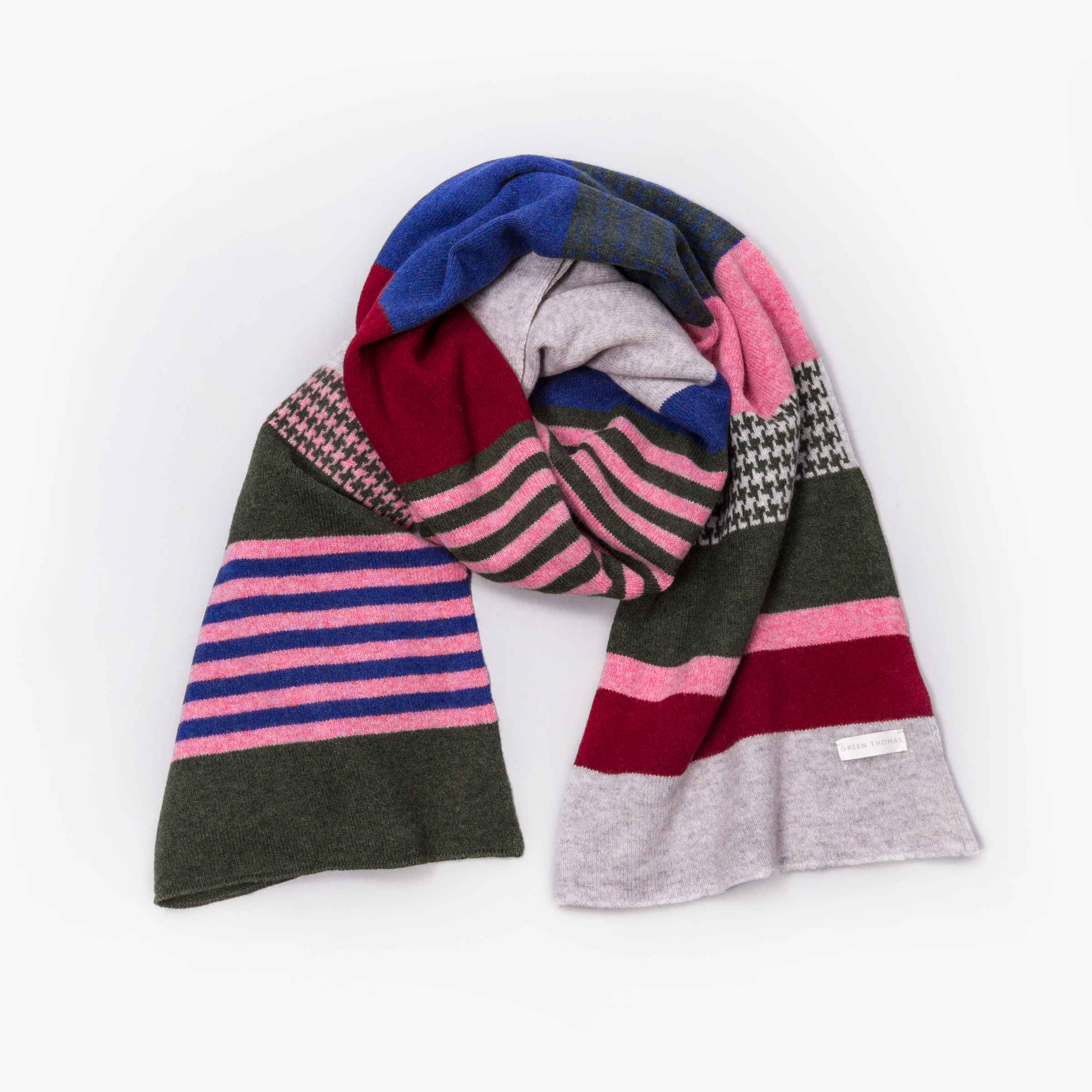 Blanket Scarf in LOCAL colourway (photo: Ross Fraser McLean)