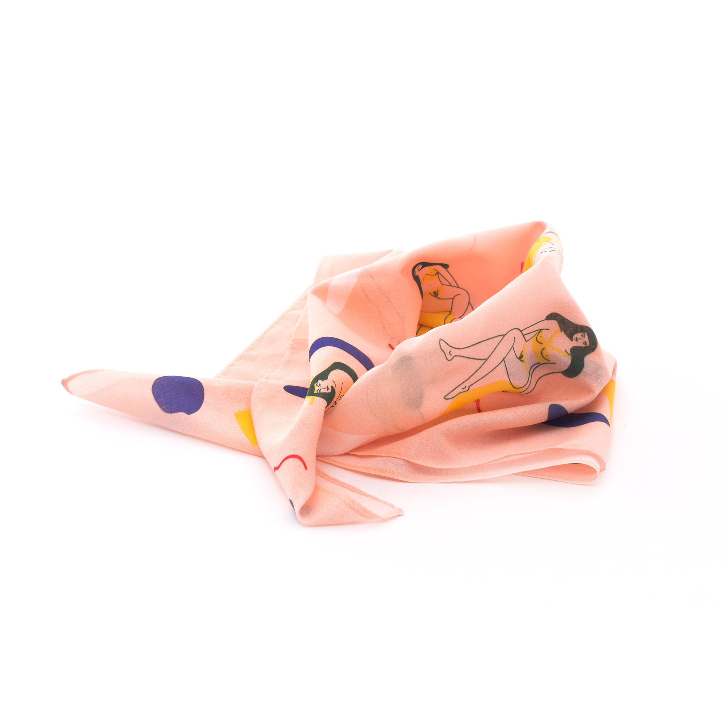 Bathers Cotton Voile Scarf