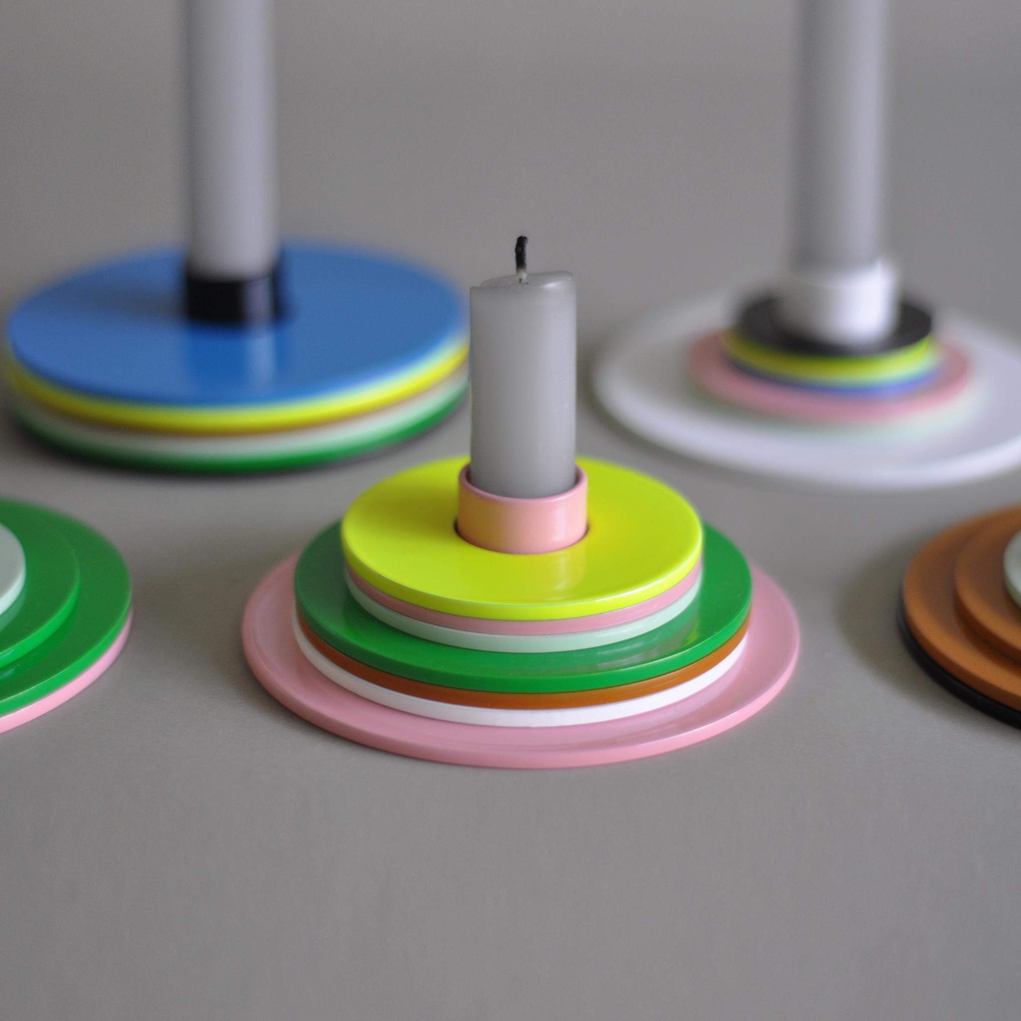 Kolor Candle Holder