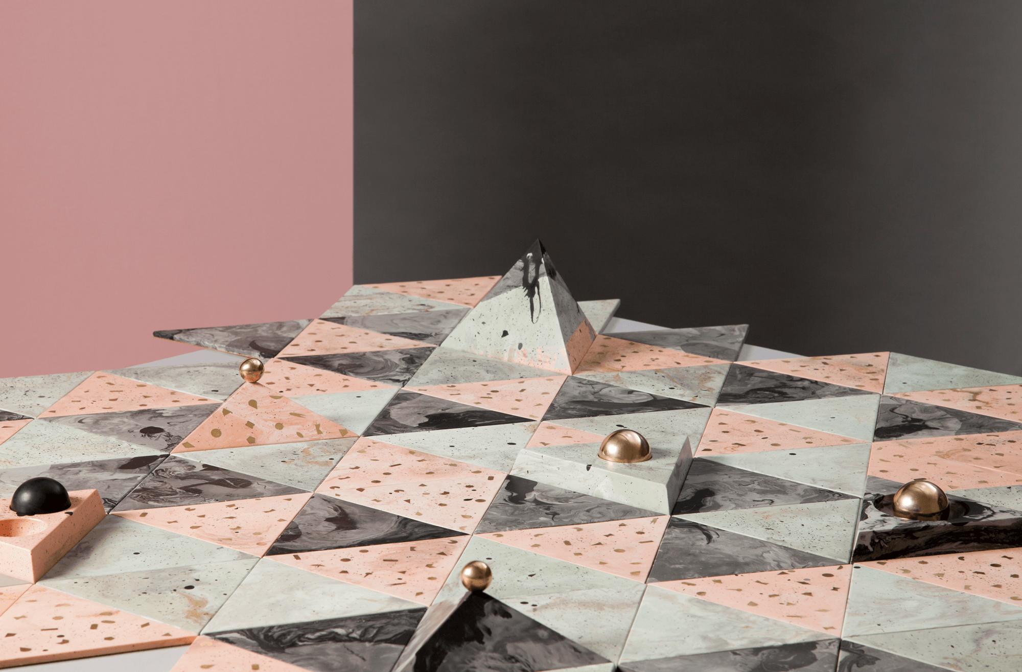 Jennifer Gray - Abigail Surface Tiles and Condiment Set