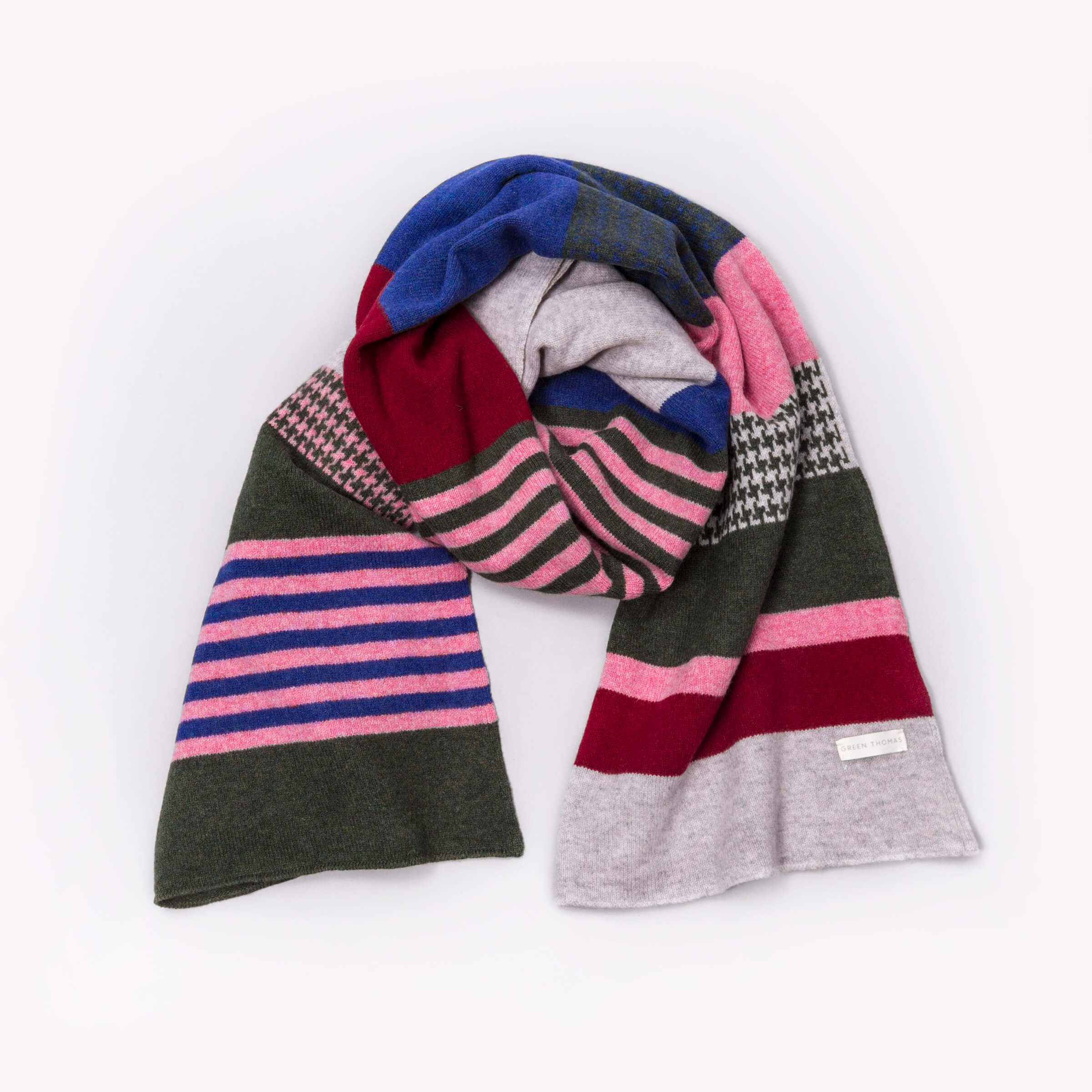 Local Heroes - Green Thomas - Blanket Scarves - Local Colourway - photo Studio RoRo