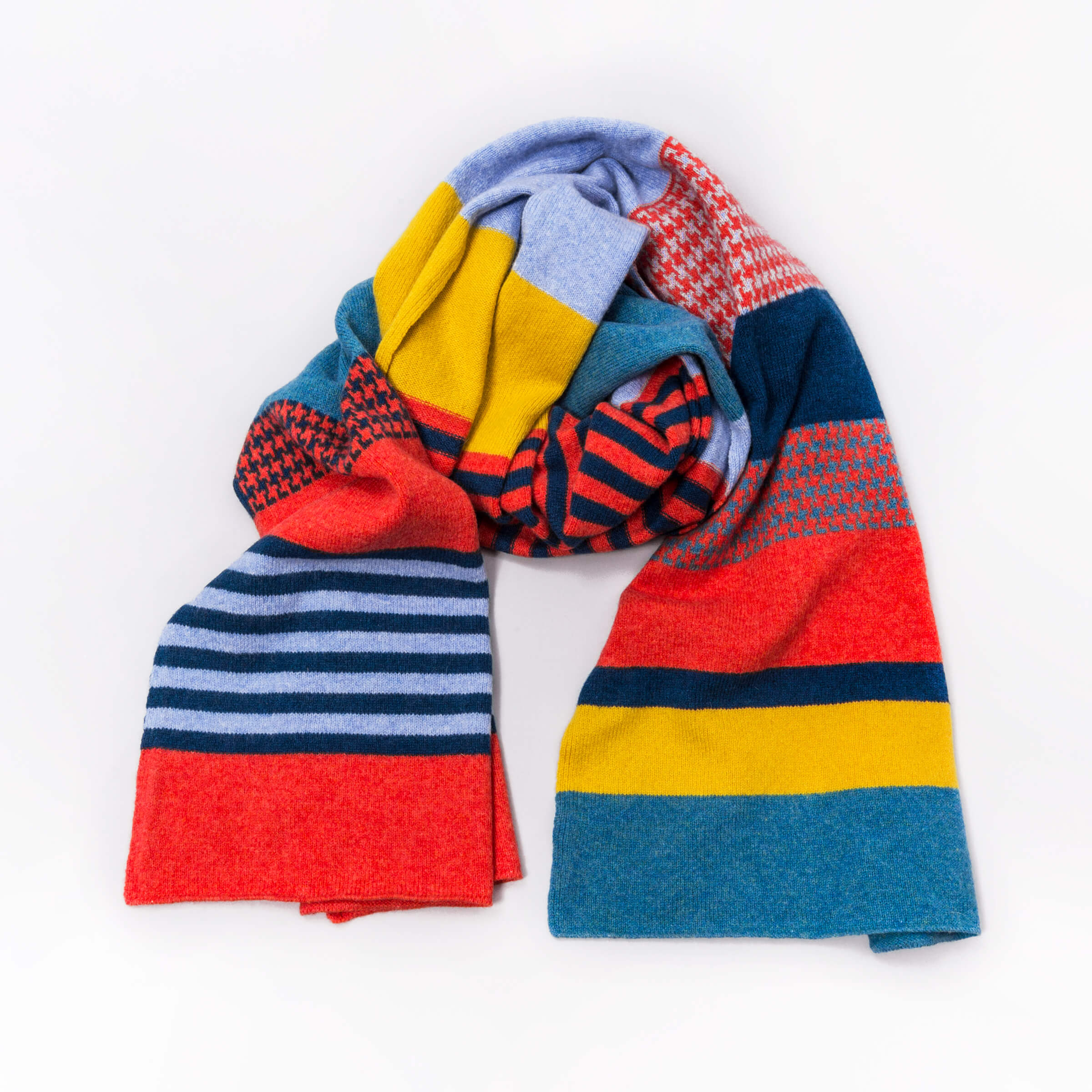 Local Heroes - Green Thomas - Blanket Scarves - Hero Colourway - photo Studio RoRo