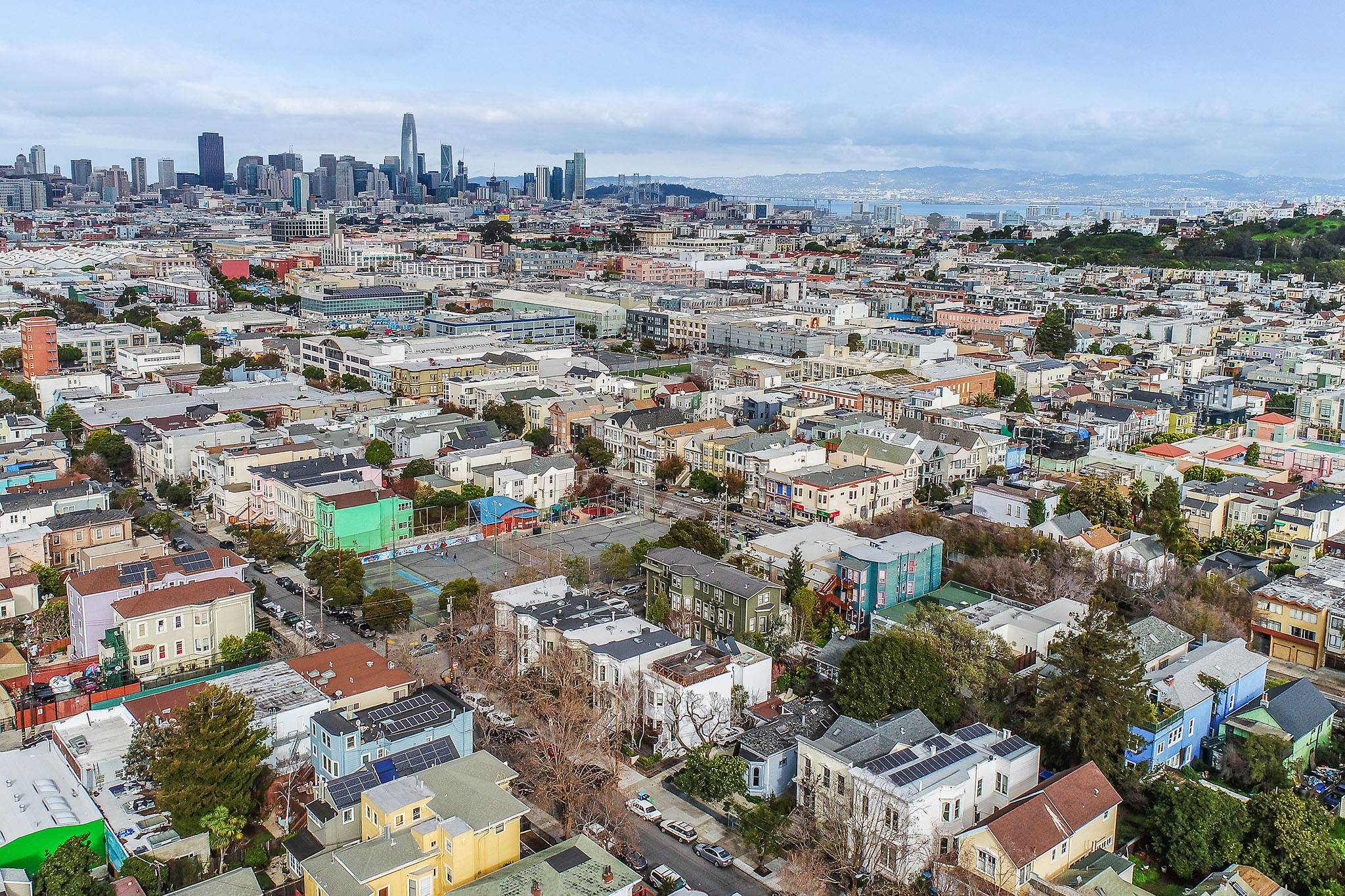 Aerial Photo of San Francisco