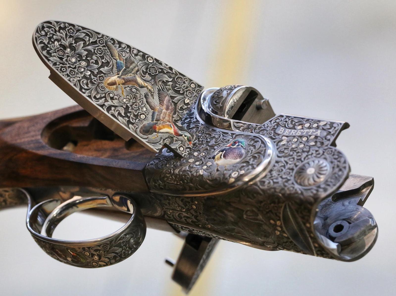 Shotgun for pheasant shooting