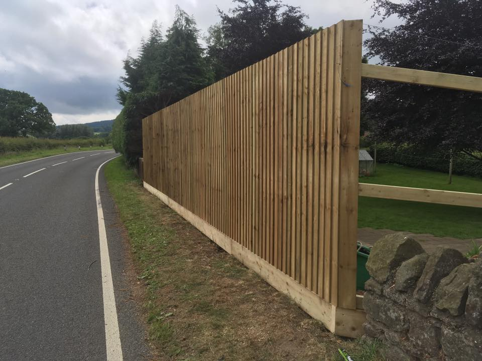 Wolverhampton fencing and landscaping