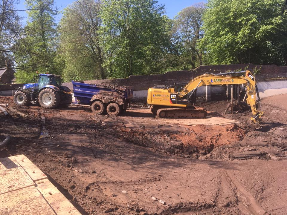 Site Level & Material Moving