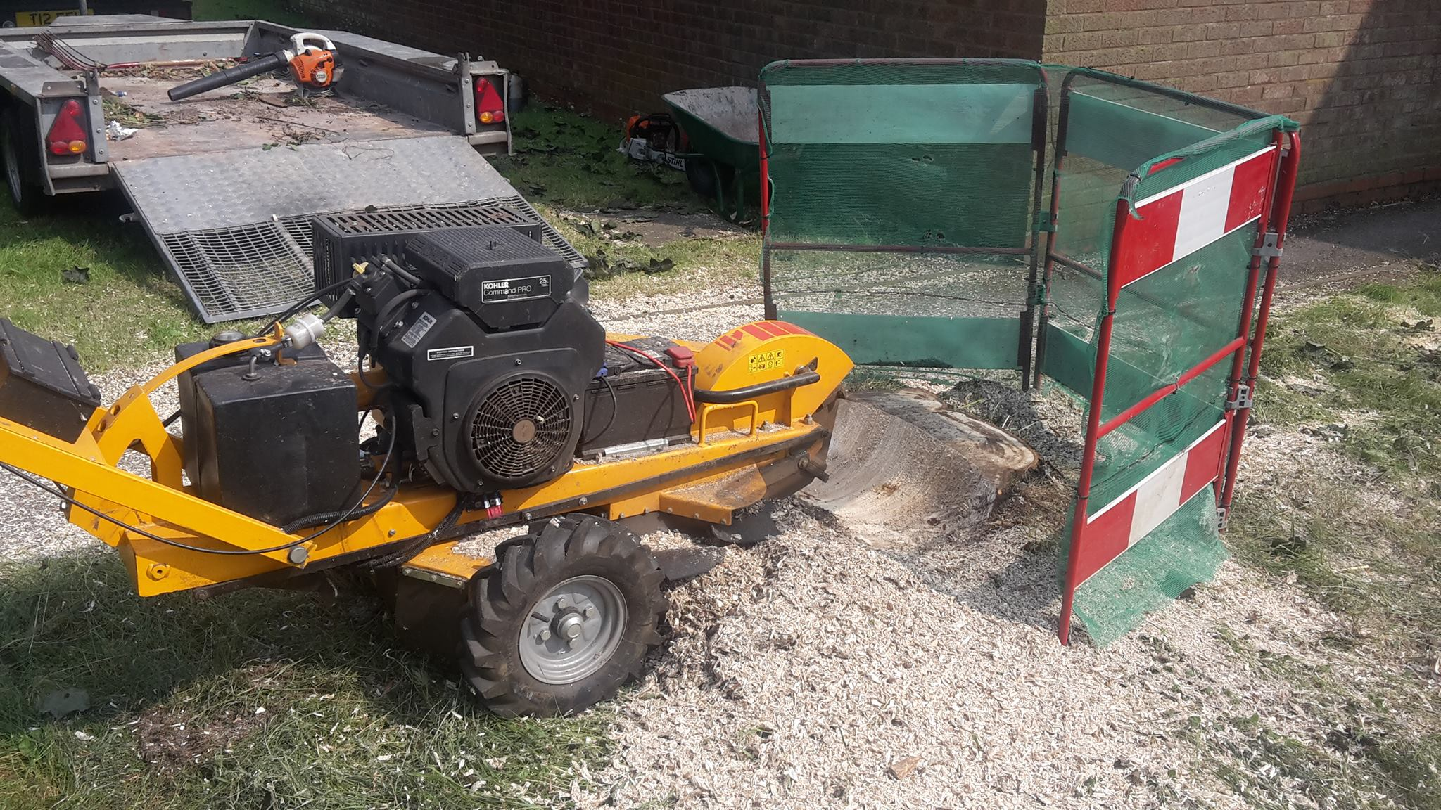 stump grinding west midlands