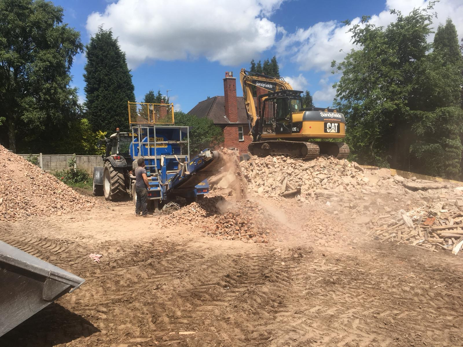 building site clearance west midlands