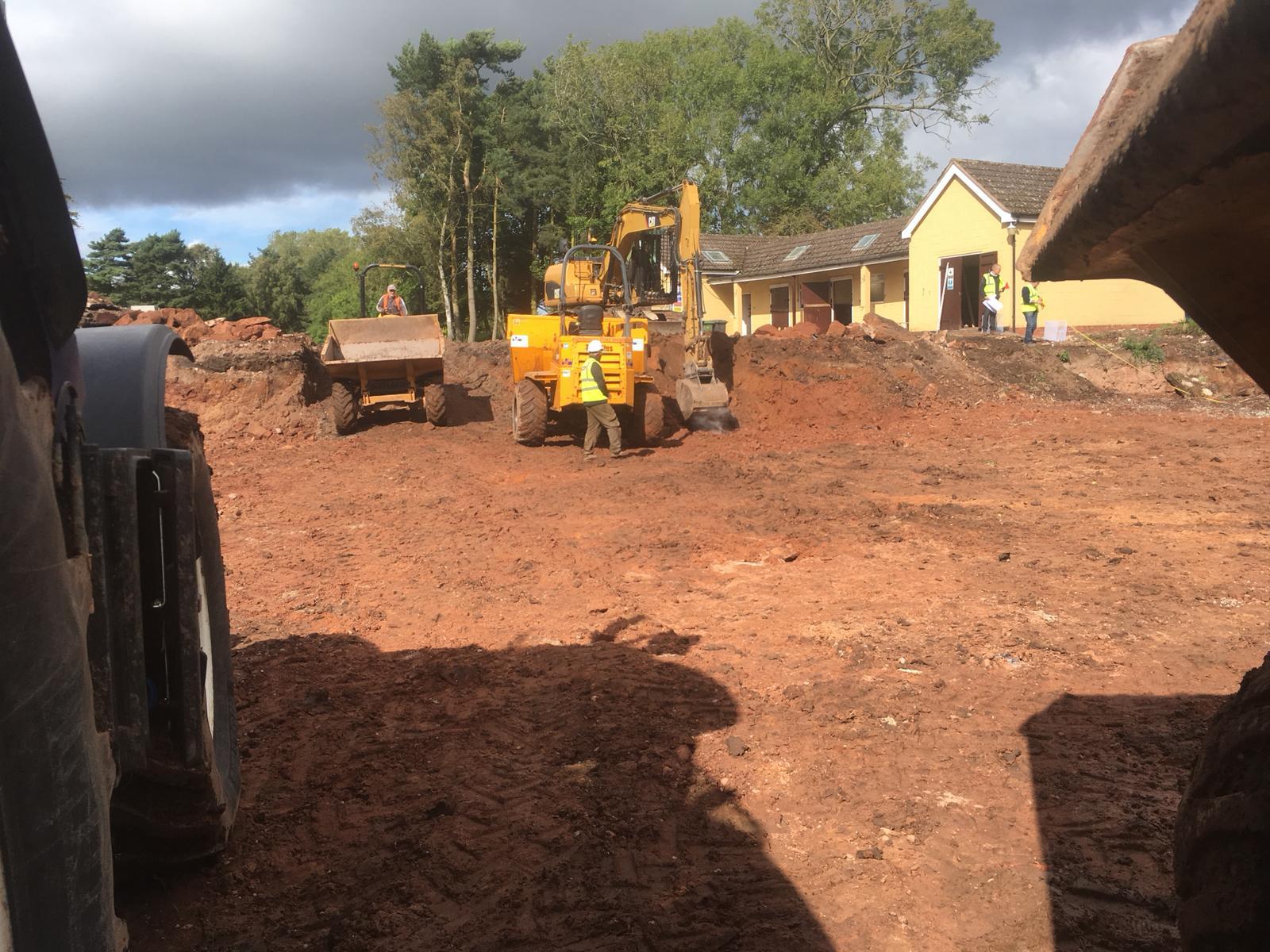 groundworks contractors west midlands