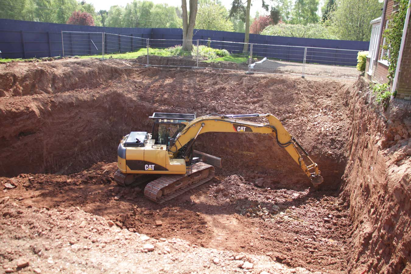 EXCAVATION and groundworks west midlands