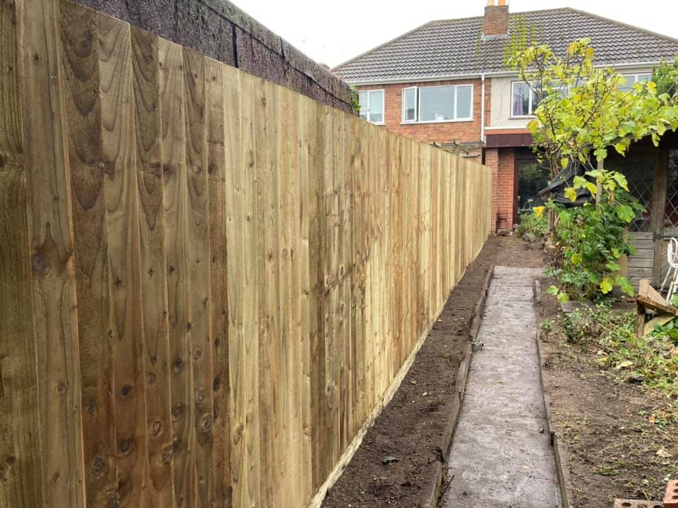 new fence landscaping wolverhampton