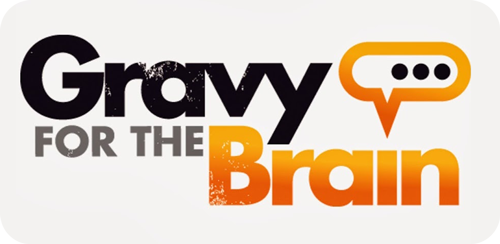 gravy for the brain logo