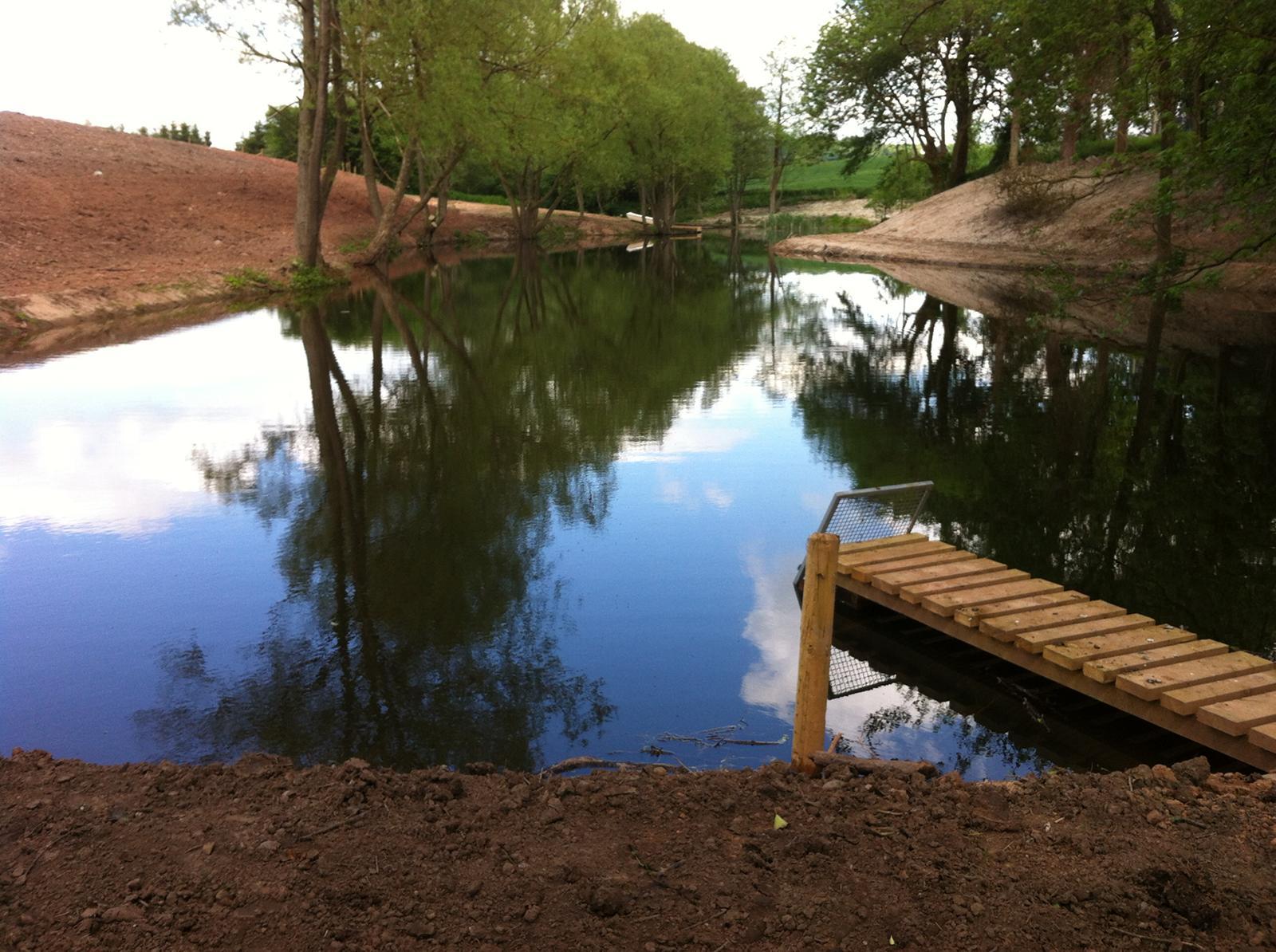 Lake Desilting / Dredging, Claverley