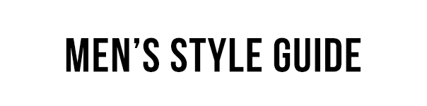 Mens style guide digital marketing client
