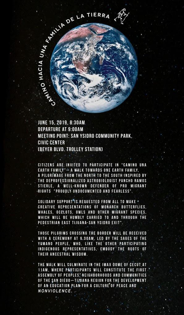 Camino Hacia Una Familia De La Tierra Invitation