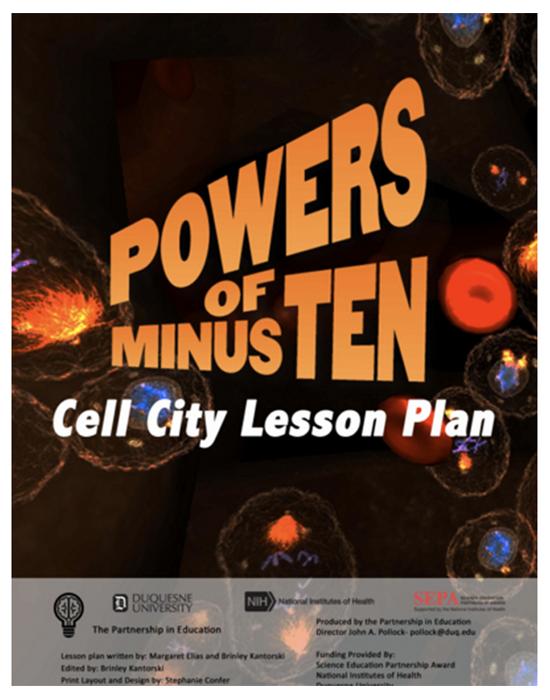 Powers of Minus Ten Bone Lesson Plan