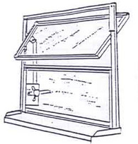 Drehflügelfenster