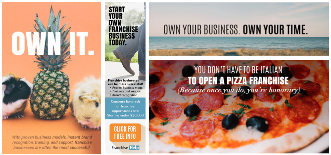 Project: Ad Creative & Design for FranchiseHelp