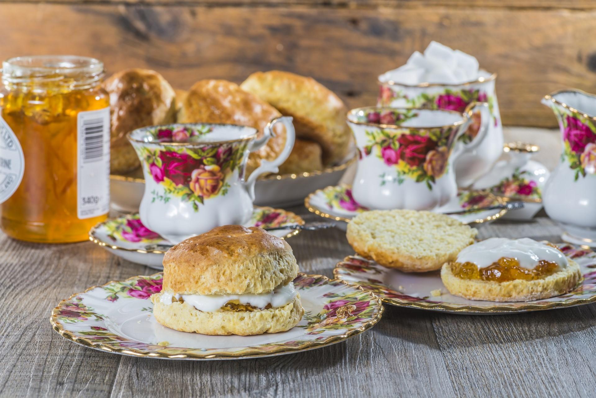 Cream Teas at Shirwell Park, North Devon