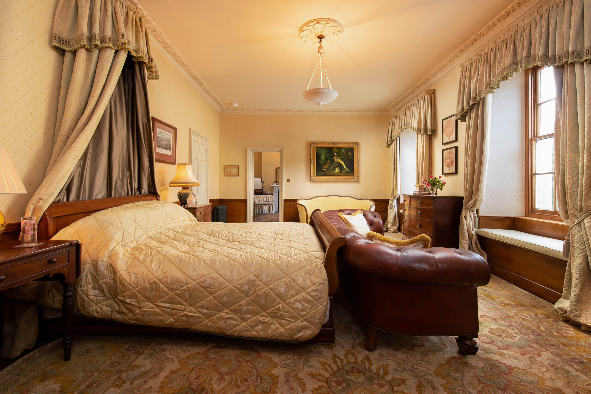 Country house stay North Devon