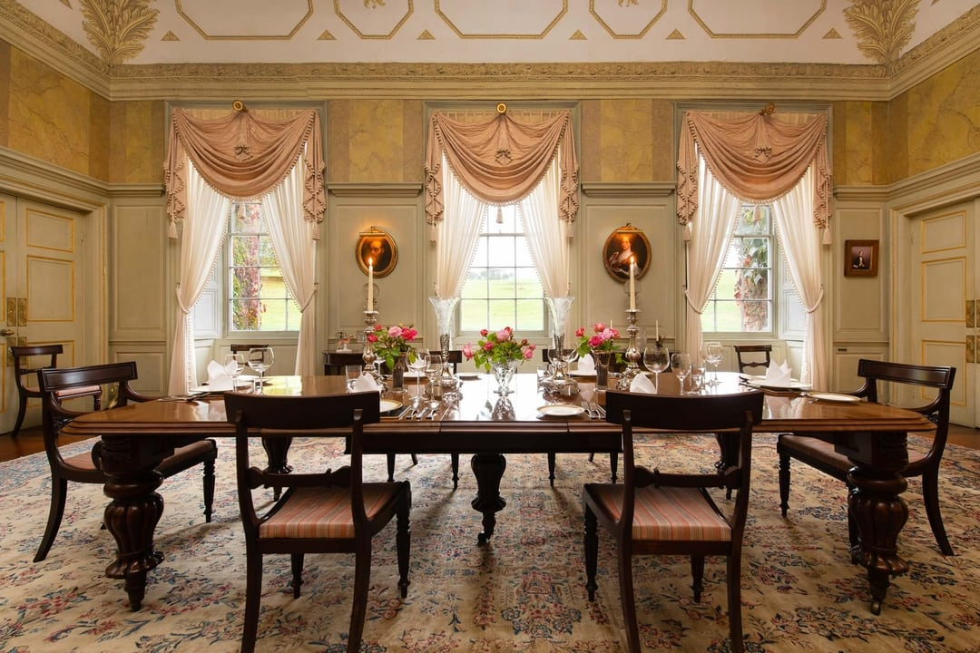 Dining at Shirwell Park Country House