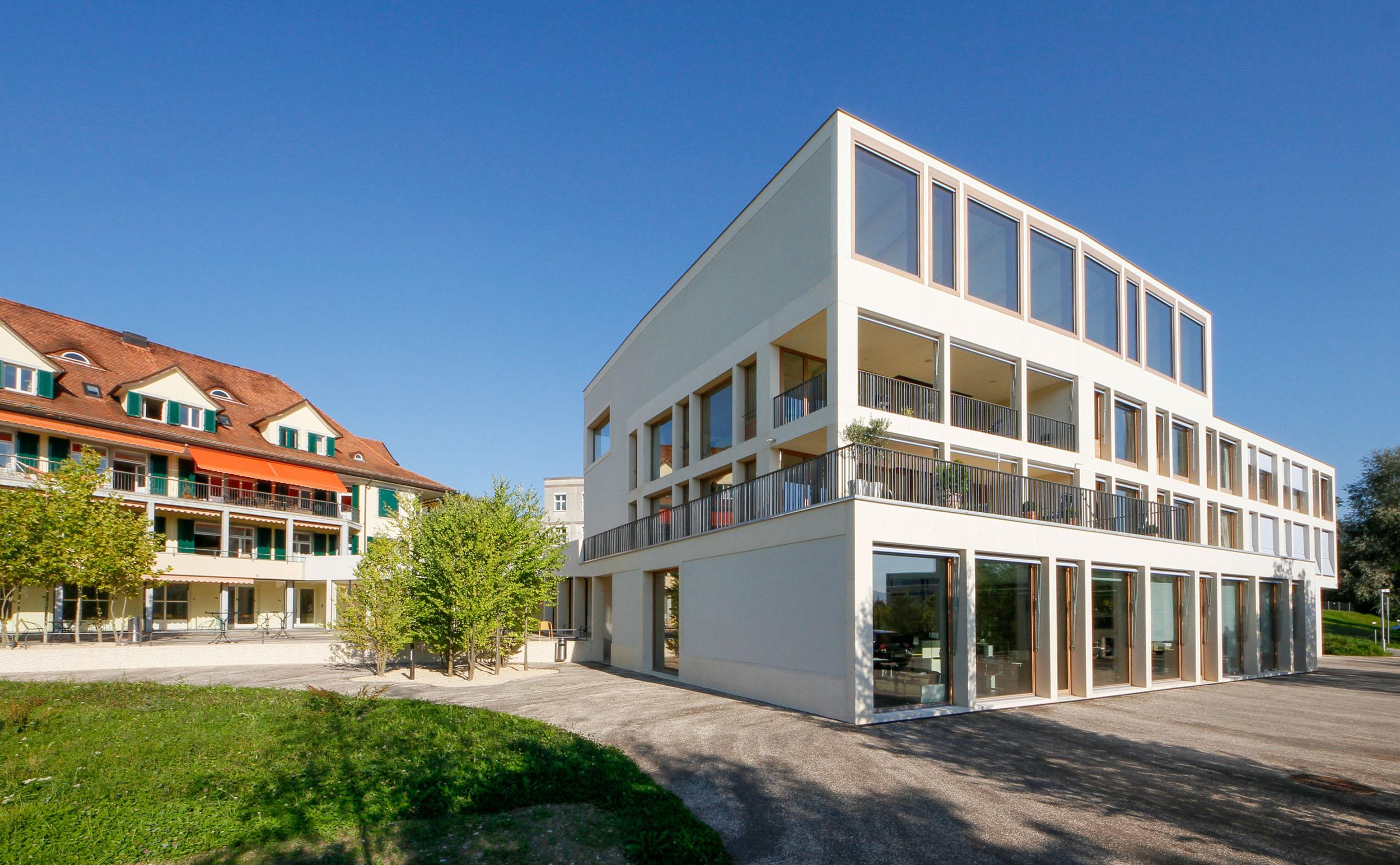 Neubau Mathilde Escher Heim