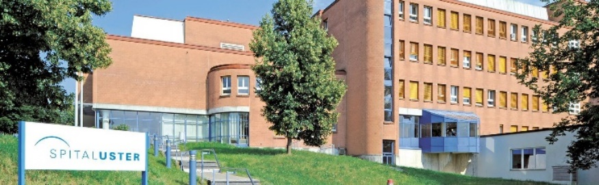 Spital Uster Nasszelleneinbau, Familienabteilung