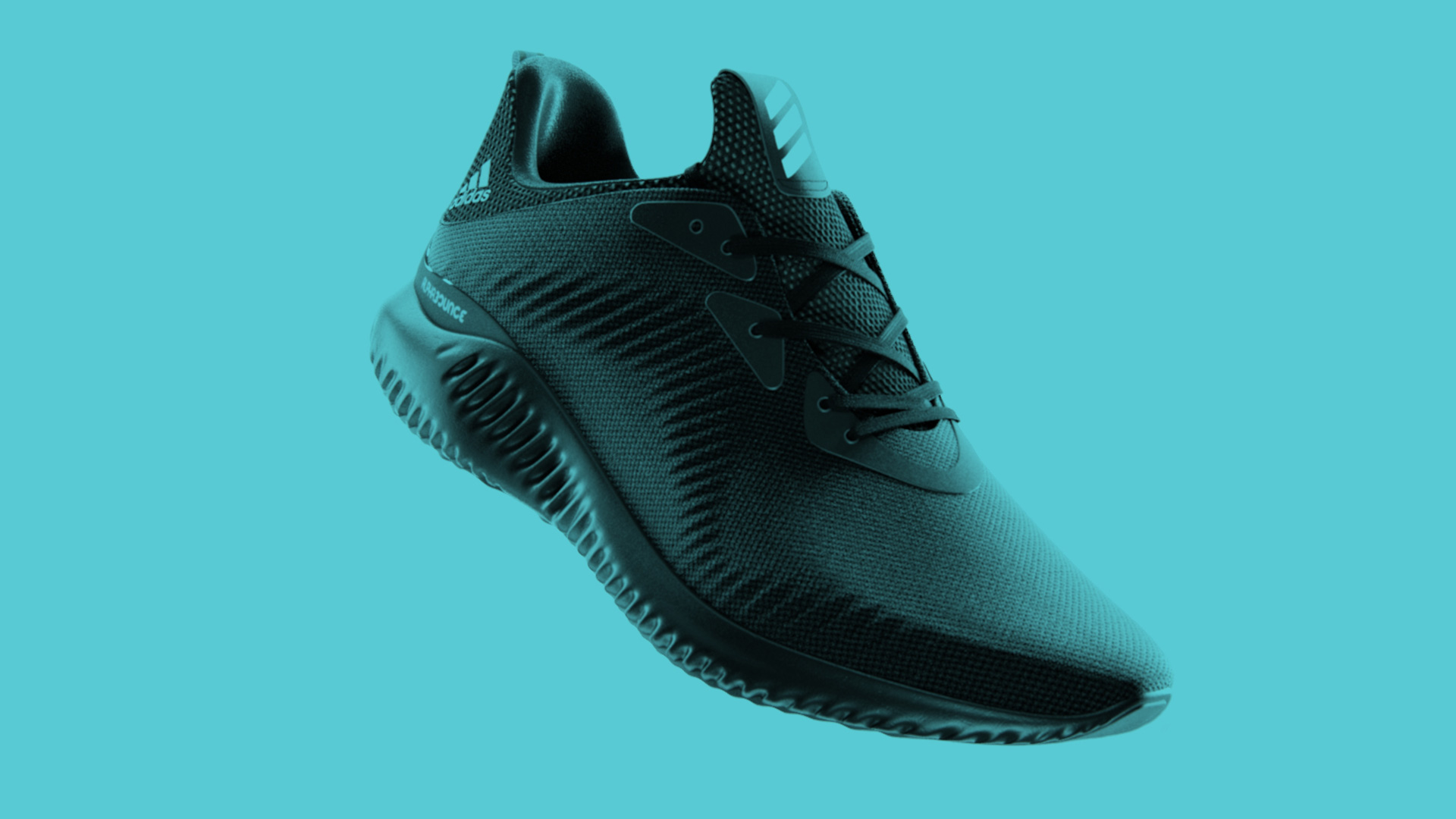 £d render of adidas alphabounce shoe