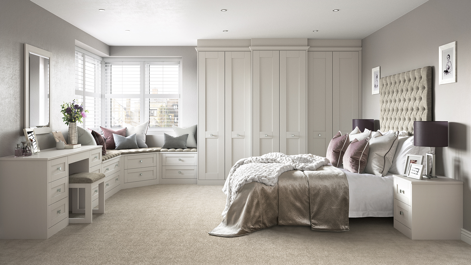 Hammonds Fitted Wardrobes Room Set