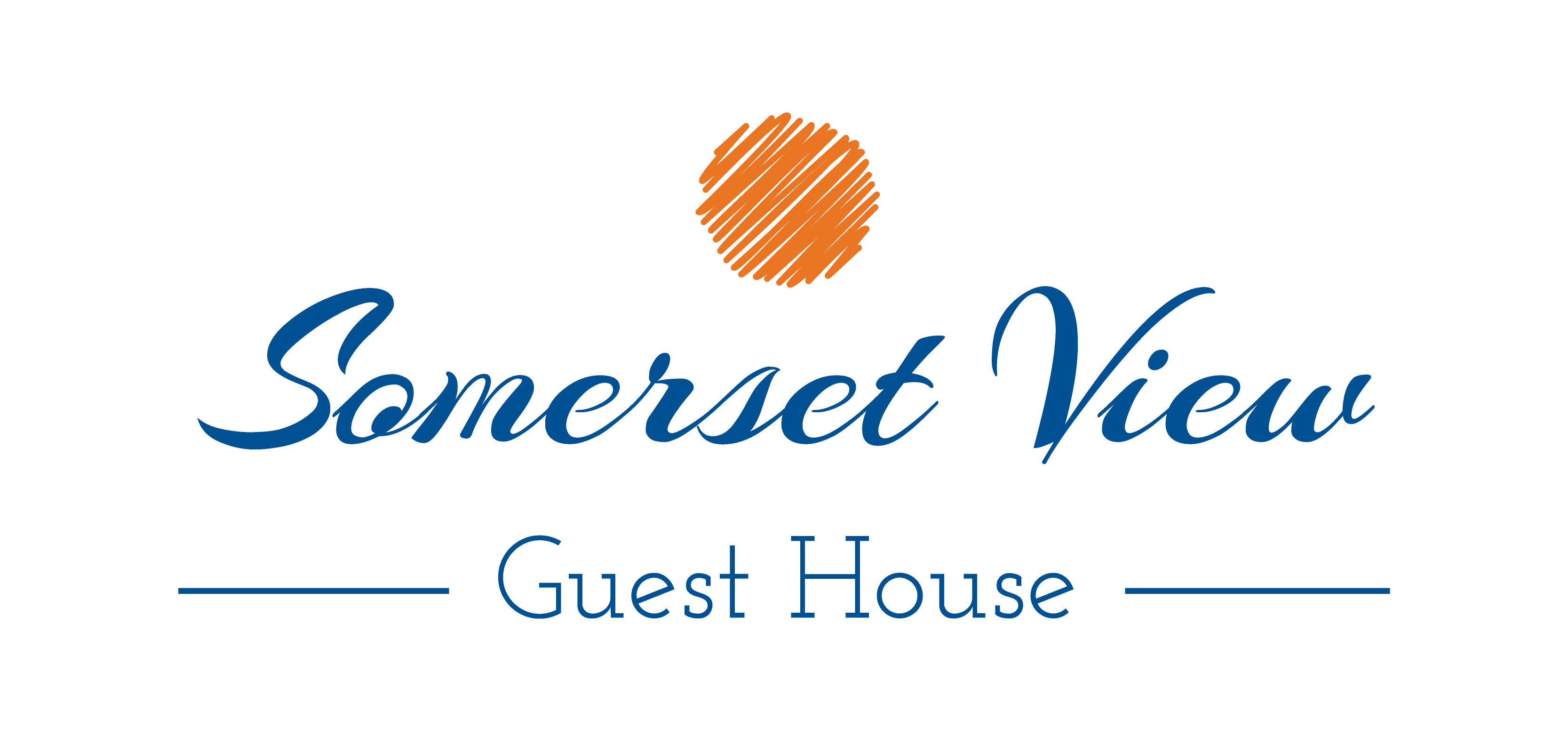 Somerset View Guest House full logo