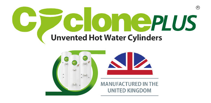 Cyclone Plus Unvented Hot Water Cylinders