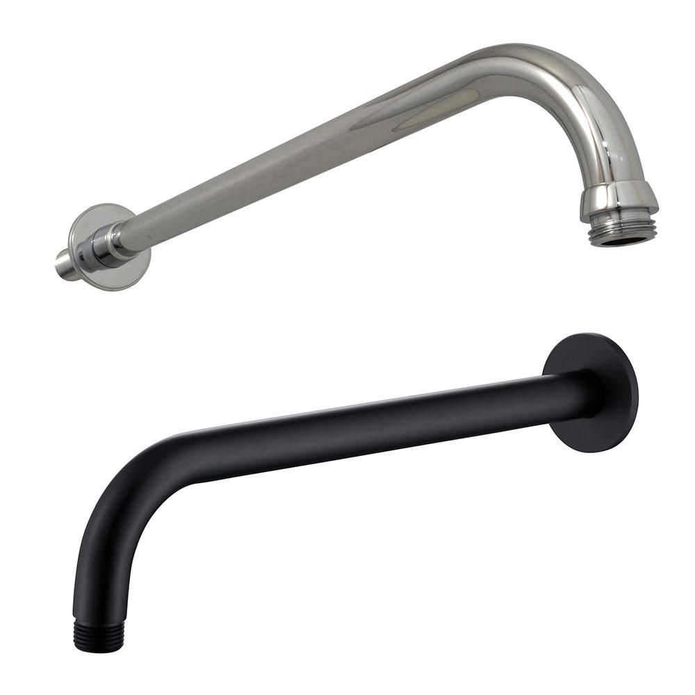 Long J-Shape Wall Shower Arm