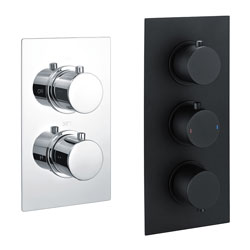 Round Concealed Thermostatic Valves