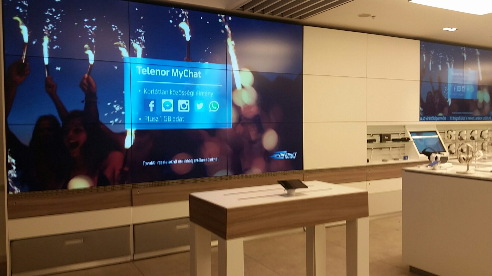 Telenor with IntuiFace Touchscreens