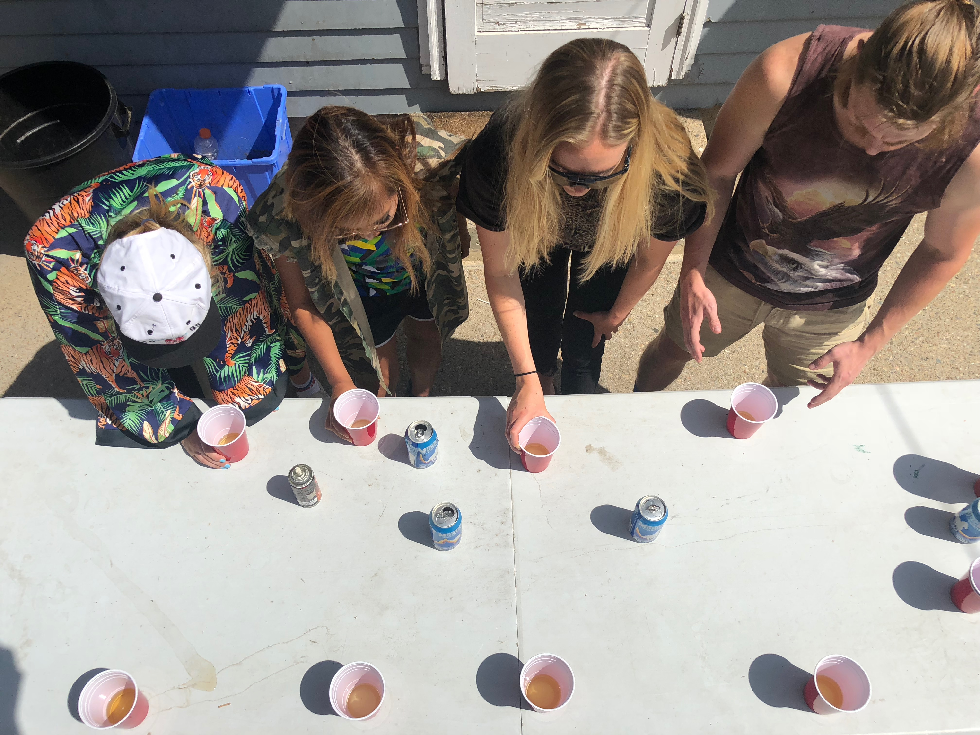 How to play the drinking game flip cup