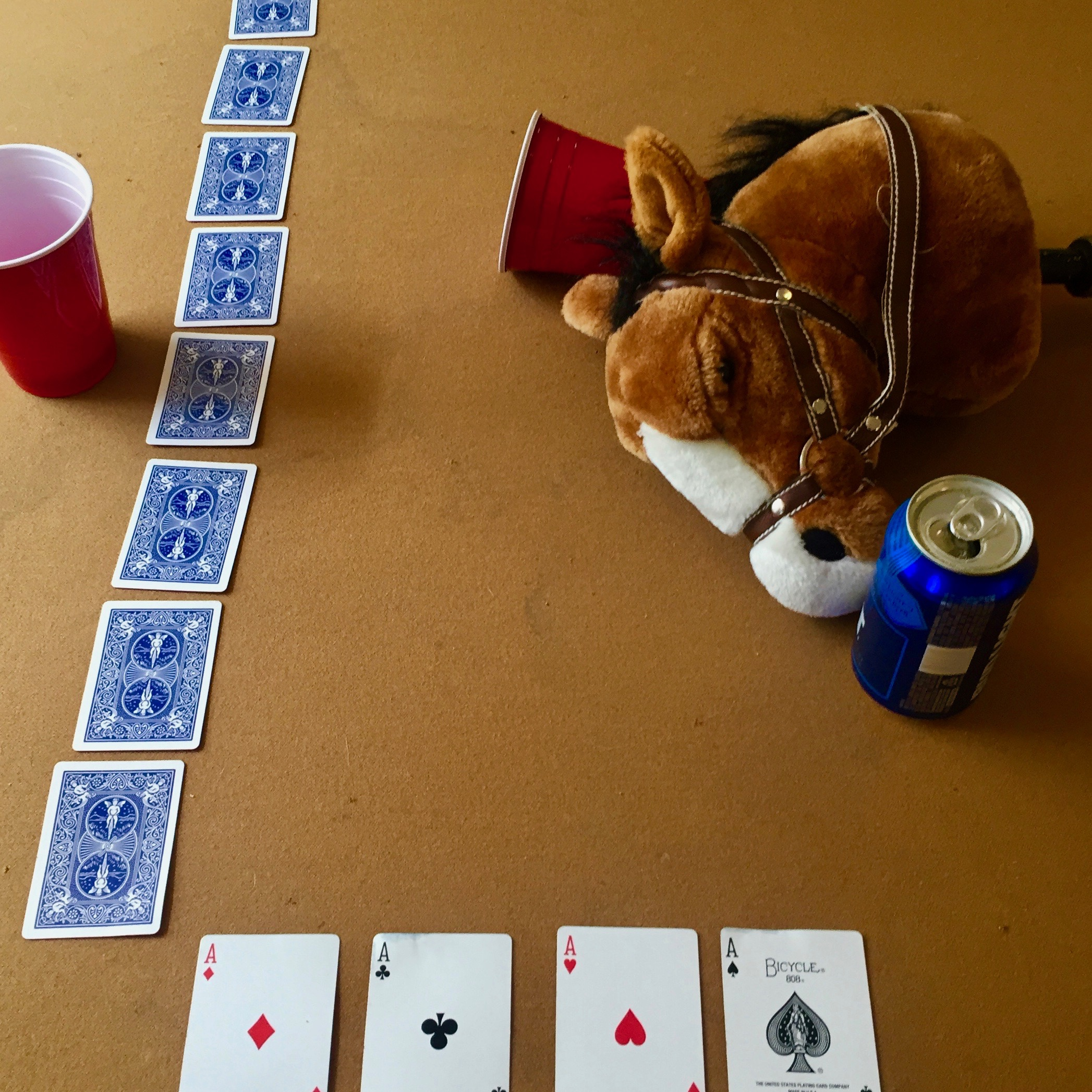 horse race card game rules