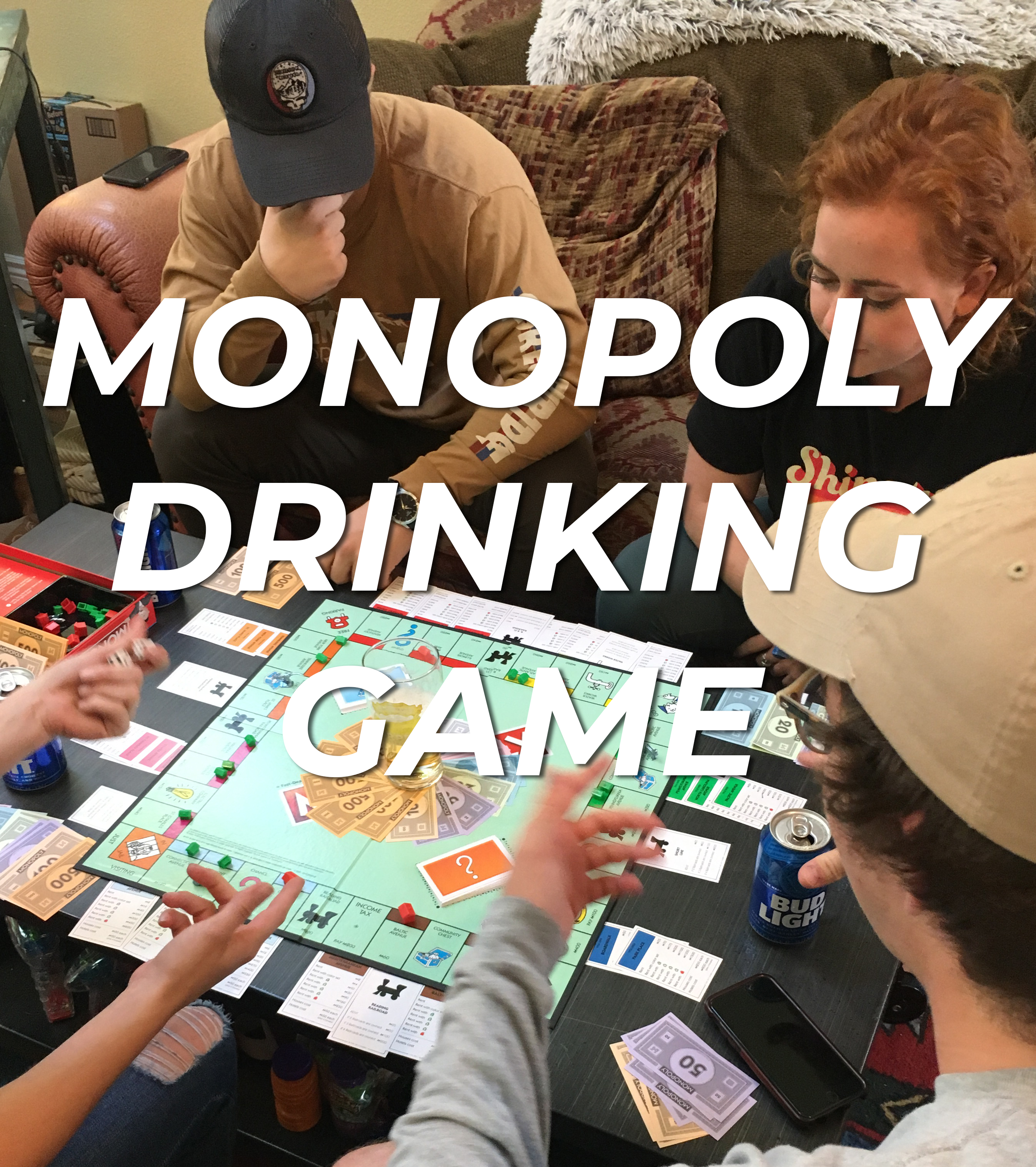 Monopoly Drinking Game Rules